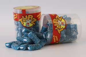 Tubz Fizzy Blue Raspberry Pencils