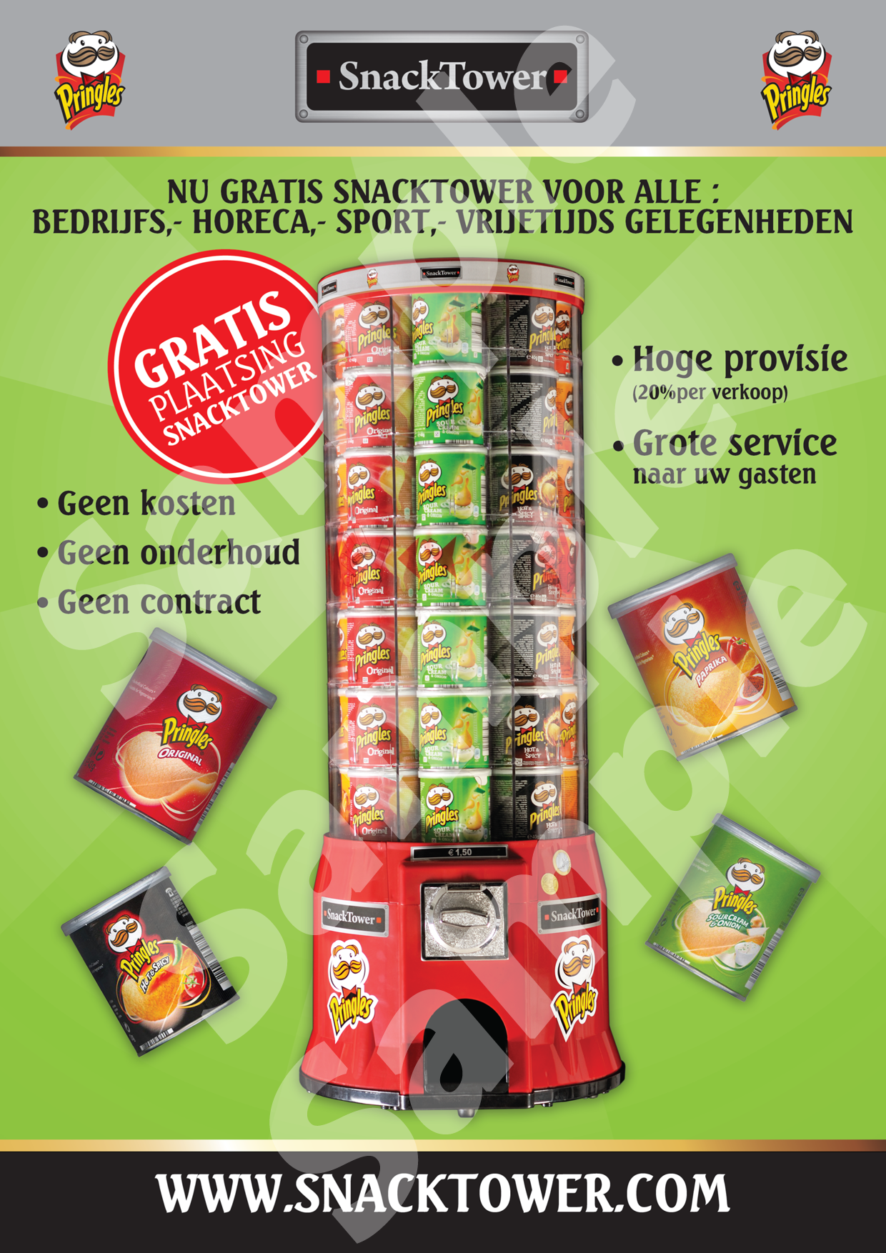 SnackTower Flyer