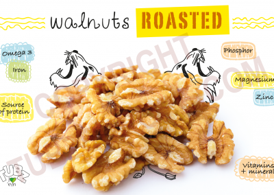 Walnuts Roasted